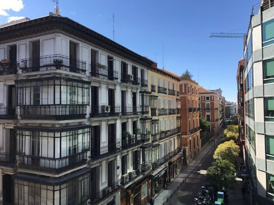 View from balcony room 223 picture of only you for Hotel boutique madrid centro