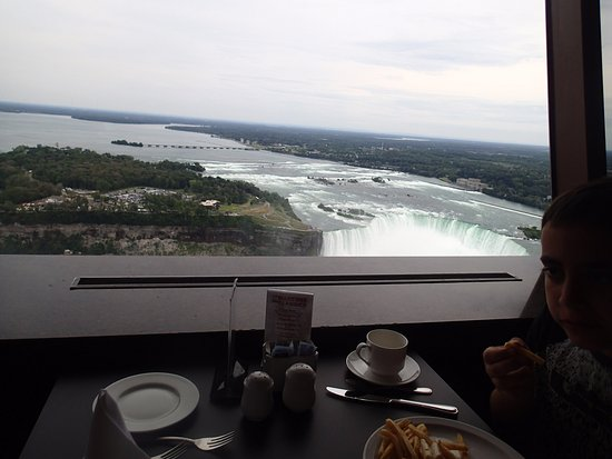 Skylon Tower View From Summit Suite Buffet Dining Room