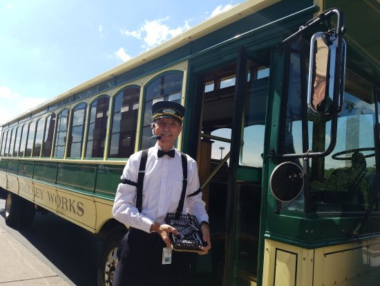 Hershey Trolley Works : Great Tour & candy too!