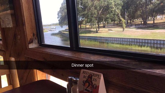 Crabby Oddwaters : View from our table