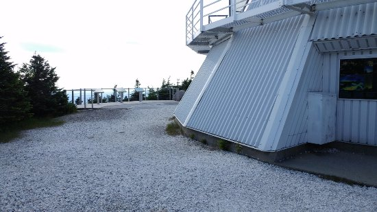 Notre Dame des Bois, Canada: The observatory
