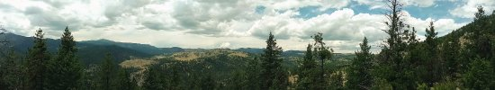 Eldorado Springs, CO: Panoramic view at the top of the trail.