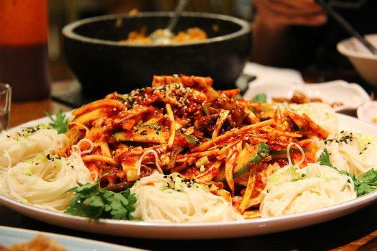 Delicious Korean dinner