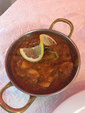 Saint Maurice, France: Plat : crevettes