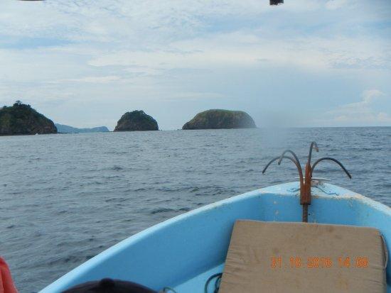 Playa Hermosa: En camino para practicar Snorke.l