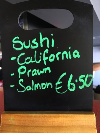 San Gwann, Malta: Freshly made sushi! Available on-site, as a Take-away or Delivery too!