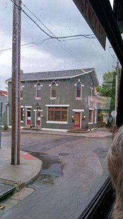 Oregon District: A renovated shop.
