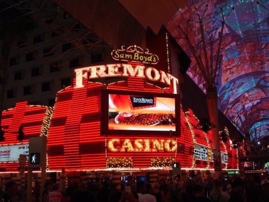 Casino at the Fremont Hotel : Sam Boyd's Casino