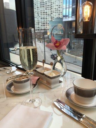 Langham Hotel Chicago Afternoon Tea