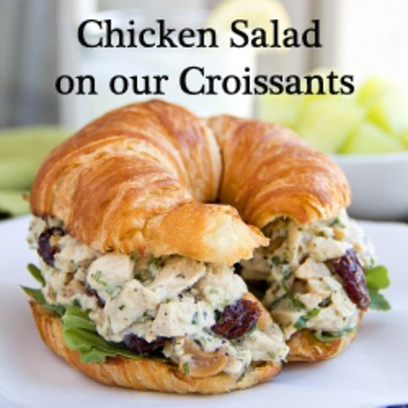 Coulterville, CA: Chicken salad sandwitch