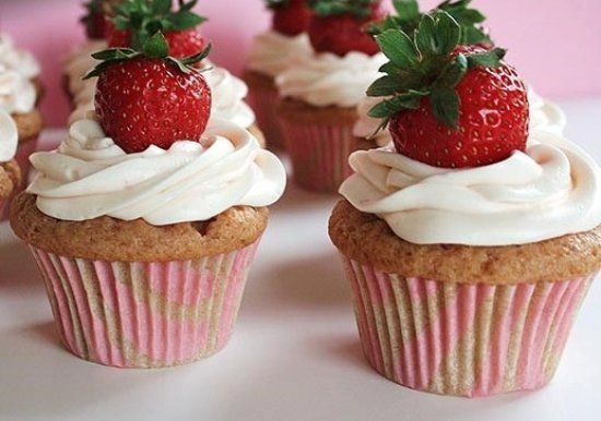 Coulterville, Kaliforniya: strawberry cup cake