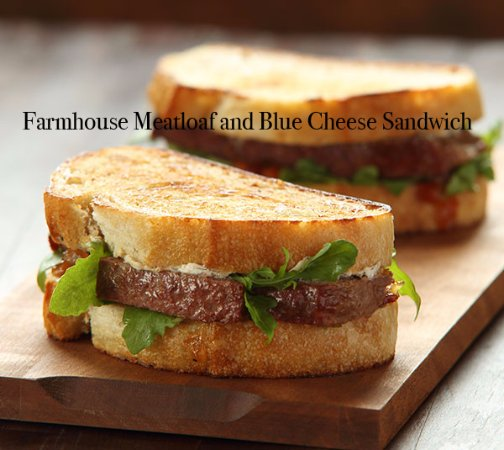 Coulterville, CA: Farmhouse Meatloaf Sandwitch