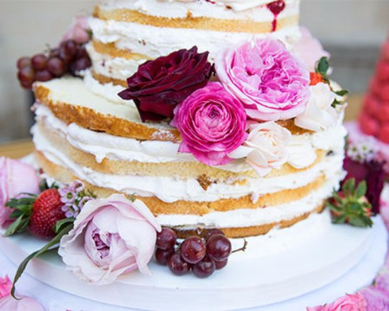 Coulterville, Kaliforniya: Wedding Cake