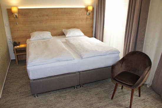 Renewed double room at City Hotel Ring (2017)