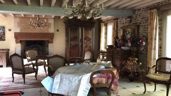 Saint-Erblon, France: Soggiorno comune