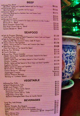 Gresham, OR: Beef and Seafood items