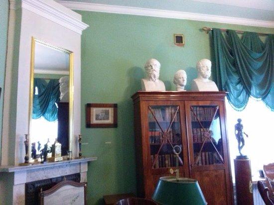 Proyutino Literature and Art Museum Residence: Кабинет Оленина