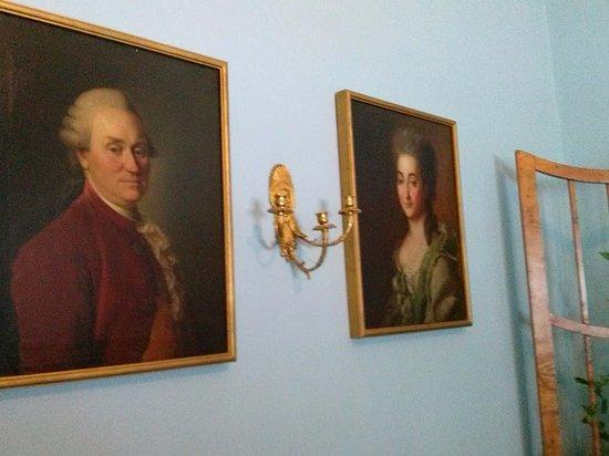 Proyutino Literature and Art Museum Residence: Портреты Олениных