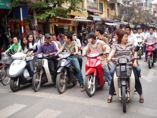 People and Vehicles - Picture of Hanoi, Vietnam - TripAdvisor