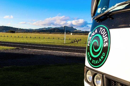 Coromandel Peninsula, New Zealand: Mana tours