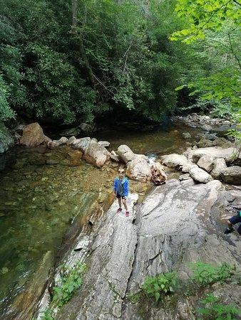 Canton, Carolina del Nord: Skinny Dip Falls