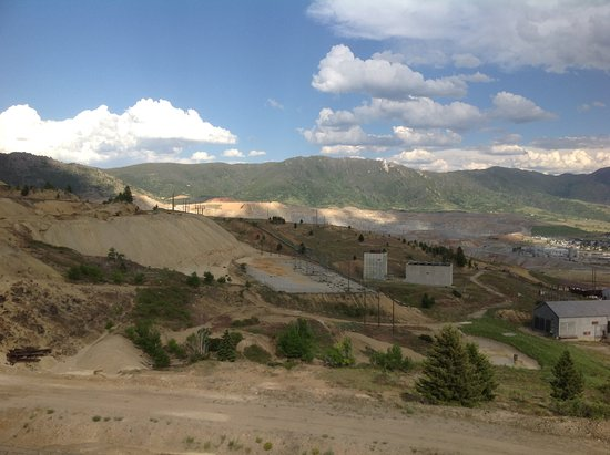 Butte, MT: View from the mine workings above