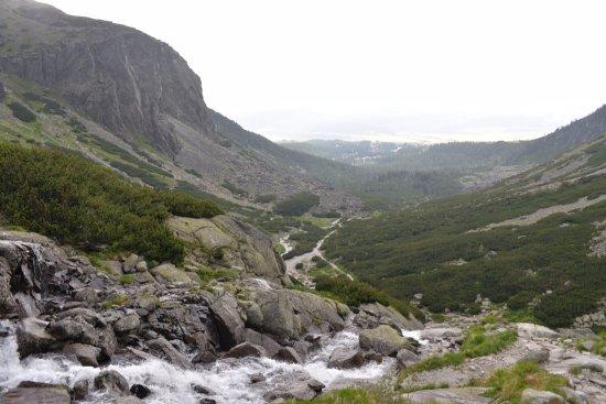 Stary Smokovec, Slovakia: View from the top - Skok Waterfall