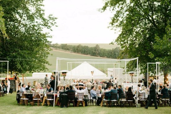 "Greyton, Sudáfrica: Wedding on the ""werf"" of The Oaks Estate"
