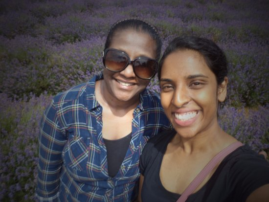 Me And My Cousin Xx Picture Of Mayfield Lavender Farm