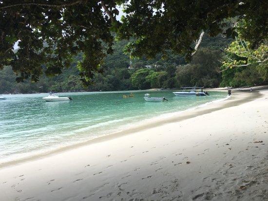 Port Glaud, Seyşeller: Non è la spiaggia piu bella di Mahè?????
