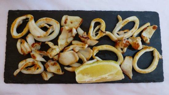 Calabardina, España: Calamar a la plancha
