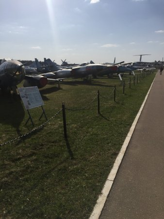 Central Museum of the Air Forces at Monino: Monino.