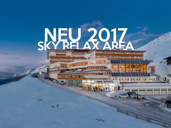 Hotel Riml: Wir bauen um! Es wird in der kommenden Saison ein Sky Relax Area mit 700 qm