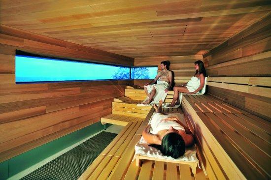Sauna Panoramasauna Picture Of Bodensee Therme Konstanz Konstanz