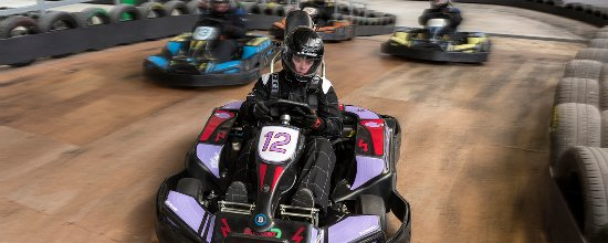 Renfrew, UK: Karting at The Experience