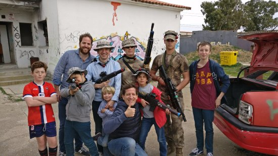 Torrejon de la Calzada, Spanyol: Un día estupendo