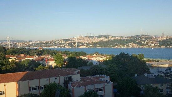 Conrad Istanbul Bosphorus: View from room
