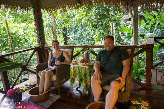 Qamea Island, Fiji: At the jungle spa