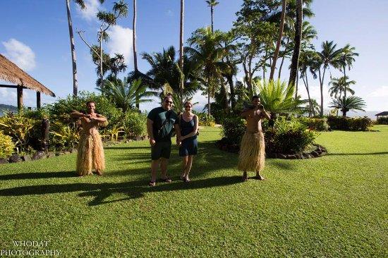 Qamea Island, Fiji: Warrior Escort