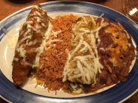 Moore, OK: This is what a Chili Relleno should look like (From On The Border).