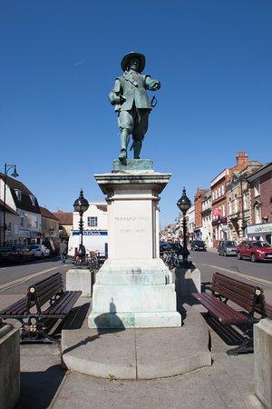 St Ives, UK : Oliver Cromwell