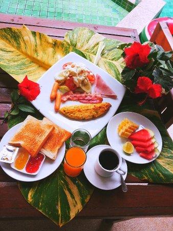 B2@Samui Beach Resort: อาหารเช้าน่ารัก