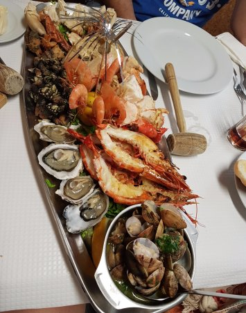 Restaurante Marisqueira Rui: Mista de mariscos