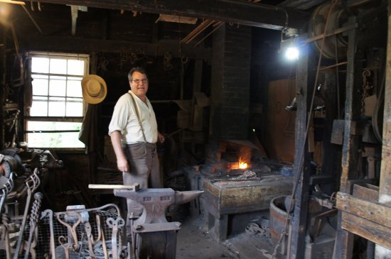 New Ross, Canada: blacksmith