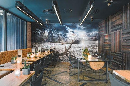 Keuken Open Hoek : Restaurant met open keuken bild von grand cafe du nord