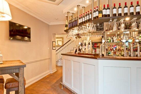 The Angel Inn: Our well stocked bar