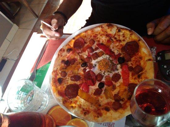 Del Arte Paris: Pizza