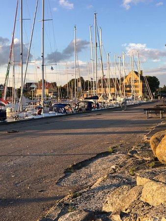 Roedvig, Dinamarca: Havnen i Rødvig