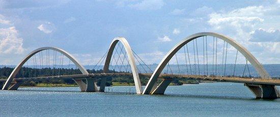 JK Bridge: Ponte JK, Brasília, DF, Brasil