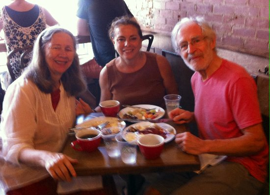 Graham, Caroline du Nord : Three really happy diners